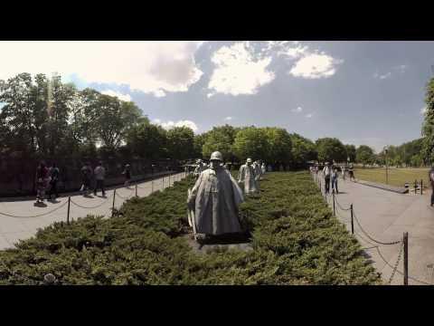 Korean War Veterans Memorial | Washington, DC 360 Video