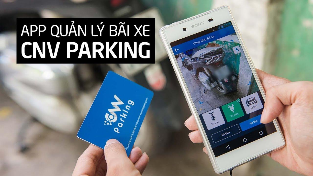 Quản lý bãi giữ xe chỉ với chiếc điện thoại thông minh!