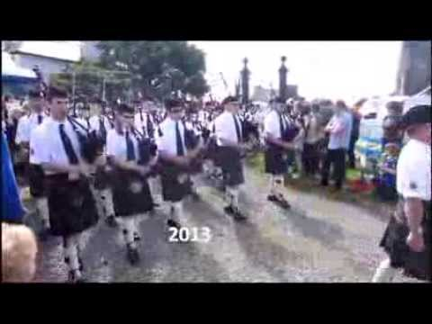 Kirkwall City Pipe Band 2013