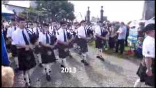 Kirkwall City Pipeband 2013
