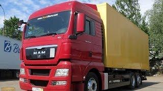 MAN TGX 26.440 LL, 2011 г, продажа грузового автомобиля в Москве(http://panzerauto.ru/ - все грузовые автомобили в наличии тут MAN TGX 26.440, 2011г, 6х2, 50м3 фургон, г/п 16т, ворота + гидролифт,..., 2014-05-20T13:43:47.000Z)