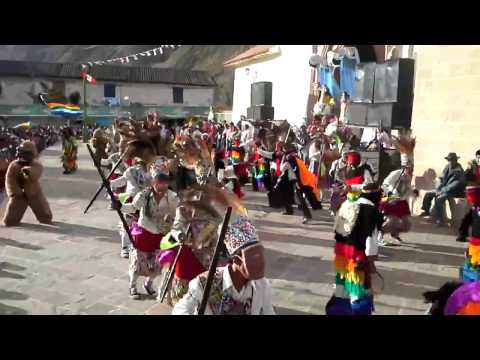 CHUNCHO REY de Lamay - Cusco 2013