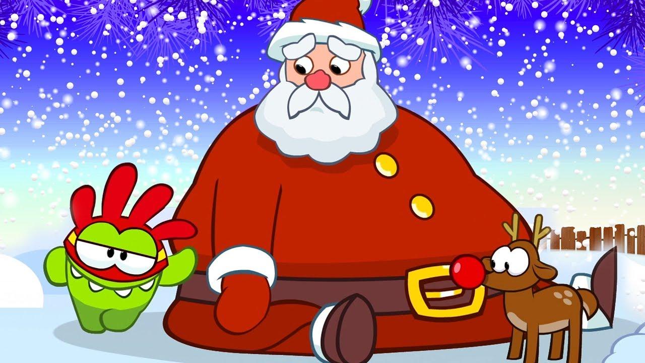Om Nom Kisah Natal Kartun Lucu Untuk Anak