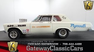 1965 Plymouth Belvedere Gateway Classic Cars Chicago #909