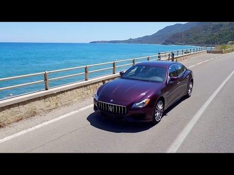 Maserati Quattroporte media test drive - Palermo, Sicily