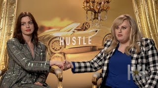 The Hustle: Rebel Wilson & Anne Hathaway Would Love To Con 'Fat Amy'