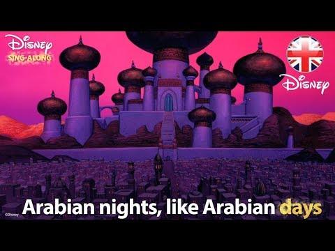 DISNEY SING-ALONGS   Arabian Nights - Aladdin Lyric Video   Official Disney UK