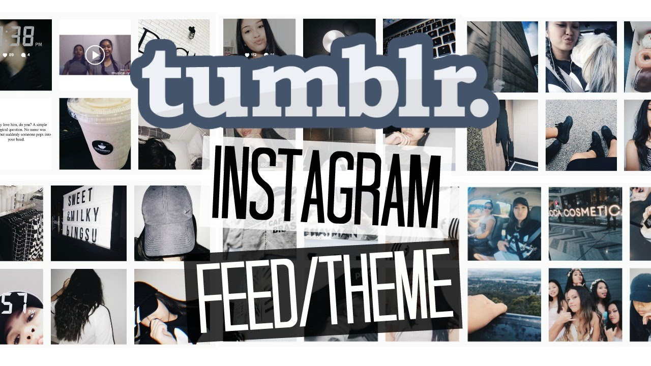 Feed Instagram: HOW I EDIT MY INSTAGRAM PHOTOS/TUMBLR FEED