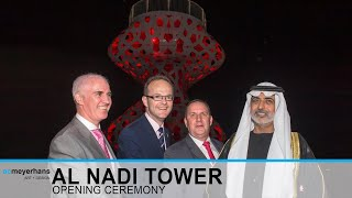Opening Ceremony of Al Nadi Tower, Abu Dhabi