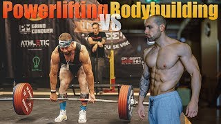 BODYBUILDING VS POWERLIFTING | Was baut mehr Masse auf ? 💪 Lifestyle Elevator thumbnail
