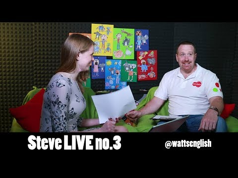 English teaching kids | Raising bilingual children | Steve Live no.3