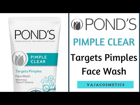 Pond's Pimple Clear Face Wash Review / How To Remove Pimple Using Face Wash / Effective Face Wash