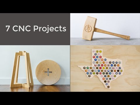 Seven CNC Projects | How To