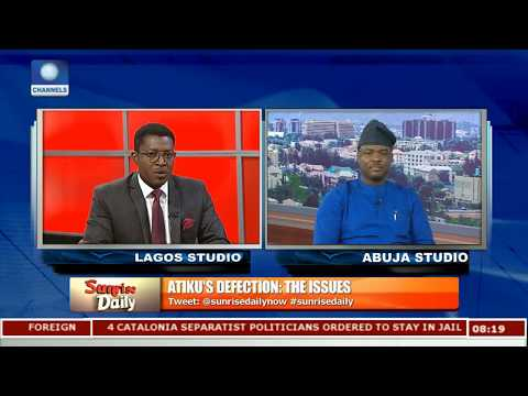 Atiku Is The Man Nigeria Needs Right Now,APC Has Failed Nigerians-- Fabiyi Pt.3 |Sunrise Daily|