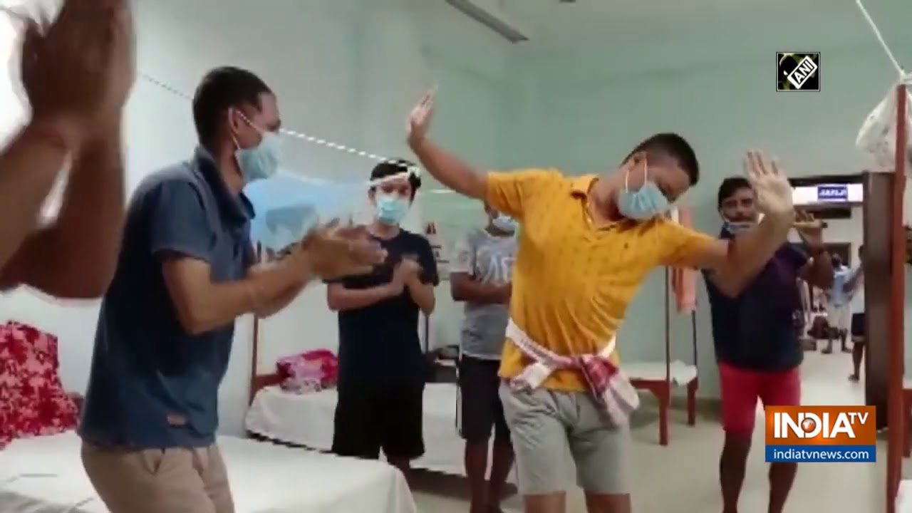 Watch: COVID patients dance, sing at Dibrugarh`s quarantine centre