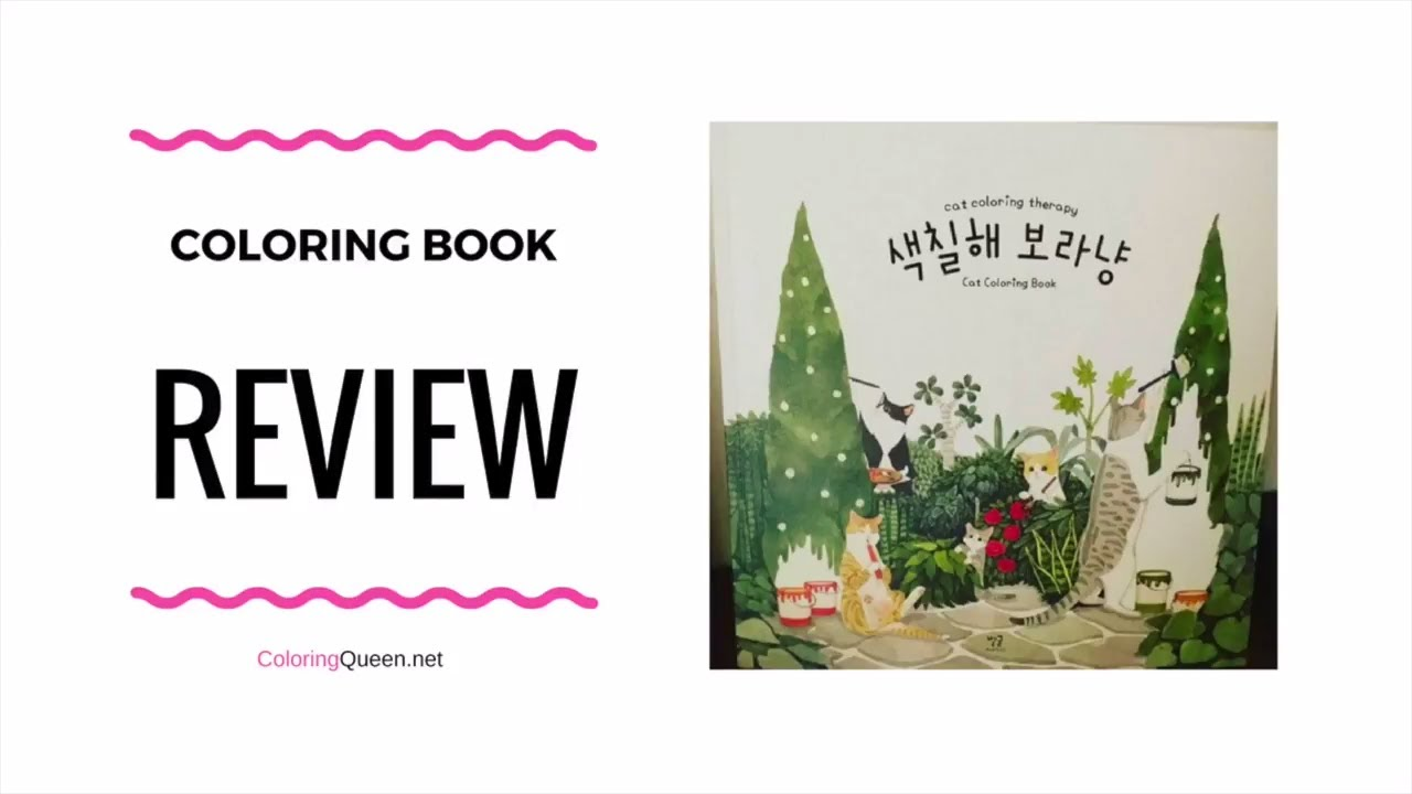 cat coloring therapy korean cat coloring book review grace j