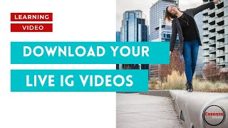 #1 How to Download IG Live Videos for Your Next Podcast Episode
