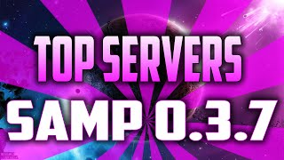 TOP 5 SERVERS SAMP 0.3.7  2016 HD (segundo top)