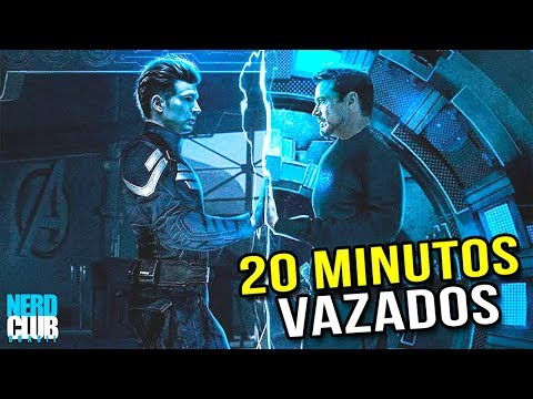 BOMBA! Vazou 20 Minutos de Vingadores: Ultimato! + Descrição e analise!