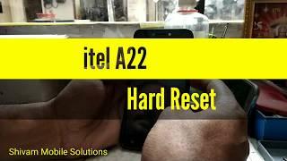 itel A22 Hard Reset
