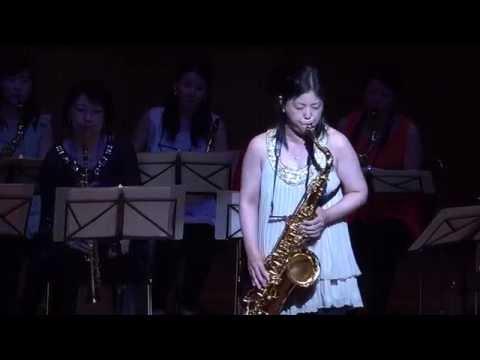 Misty, Akiko Jinnouchi : Tenor Sax solo,  Mi-Bémol Saxophone Ensemble