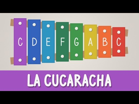 How to play La Cucaracha on a Xylophone - Easy Songs - Tutorial - YOUCANPLAYIT.COM