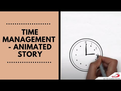 Time Management  -  Animated Story