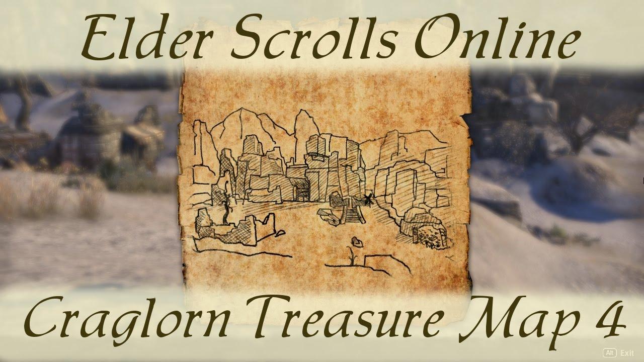 Eso Craglorn Treasure Map