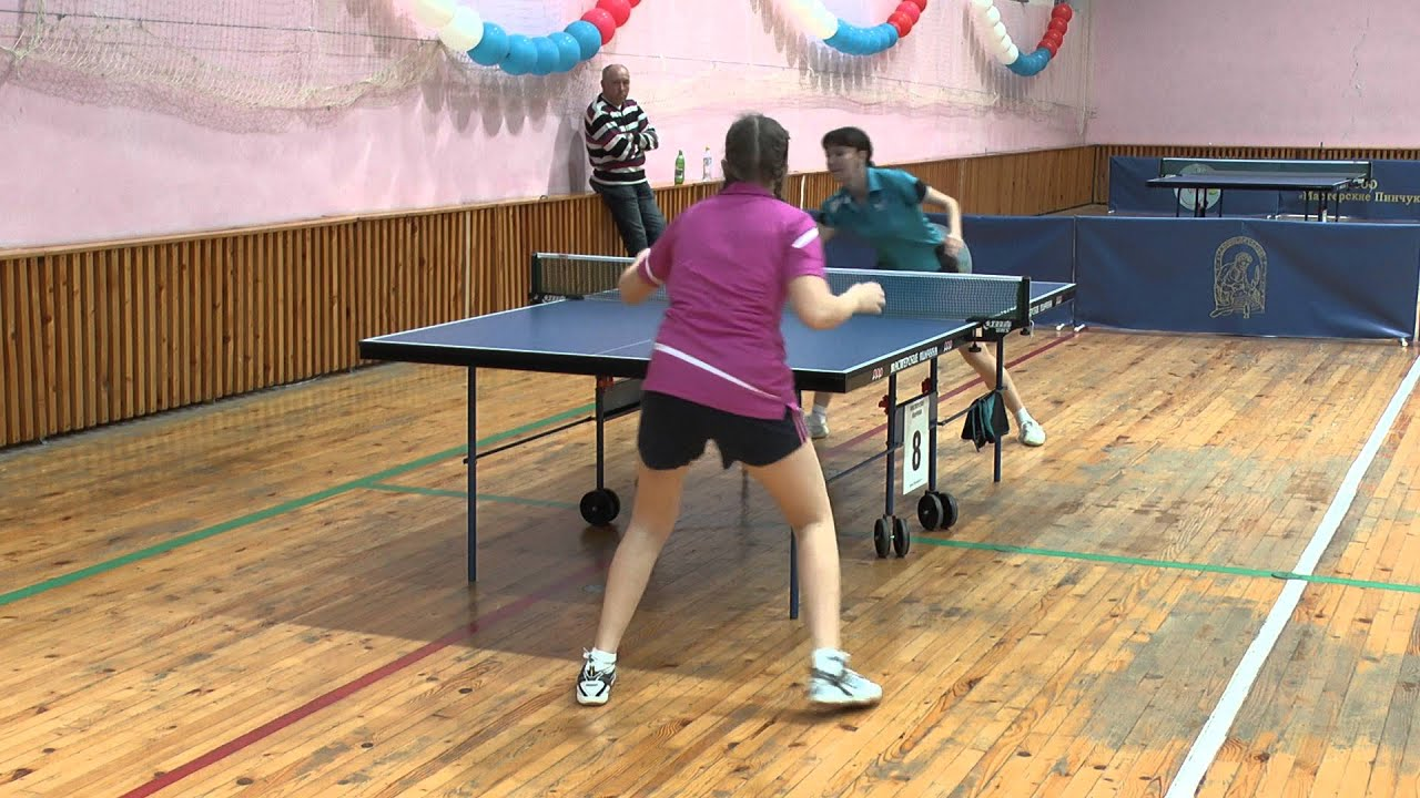 Юлия ОСТАНИНА - Мария ПЕТРАКОВА Конаковская весна Table Tennis Настольный теннис