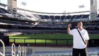 サンディエゴ観光 ペトコパーク メジャーリーグの球場 パドレス本拠地