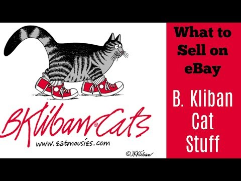 What To Sell On EBay B Kliban Cat Items