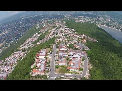 Aerial view of Kingston, Jamaica captured with Phantom 2 Vision+