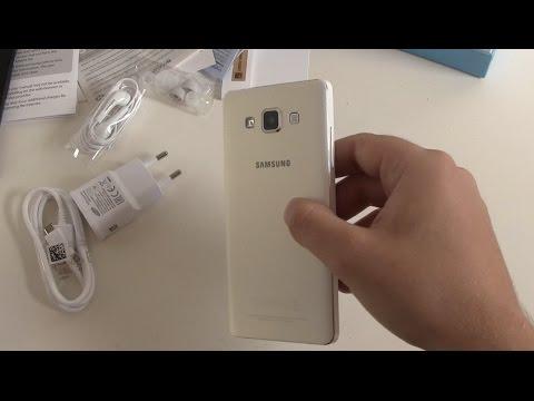 Samsung Galaxy A5 Unboxing und erster Eindruck