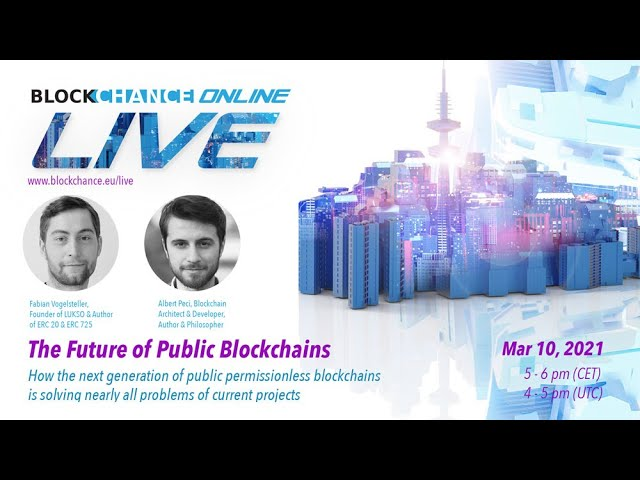 Future of Public Blockchains w/ Fabian Vogelsteller, Founder at LUKSO - BCO#6