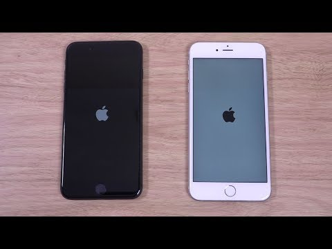 iPhone 8 Plus vs iPhone 6S Plus iOS 11 - Speed Test!