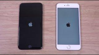 iPhone 8 Plus vs iPhone 6S Plus iOS 11 - Speed Test!