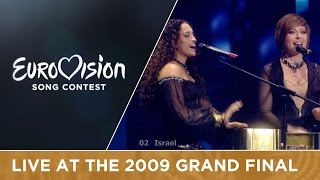 Noa & Mira Awad - There Must Be Another Way (Israel) LIVE 2009 Eurovision Song Contest