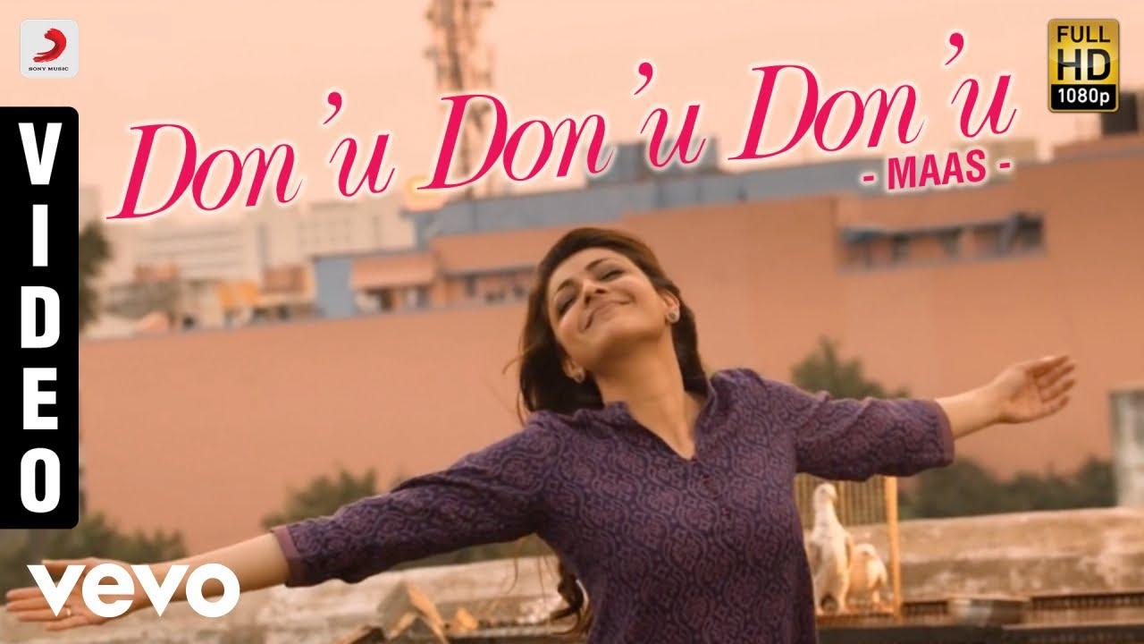 maas - don'u don'u don'u video | dhanush, kajal | anirudh - youtube