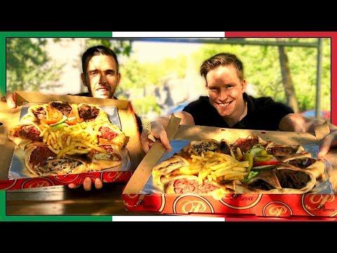 Vi testar Vulkan-pizzan!