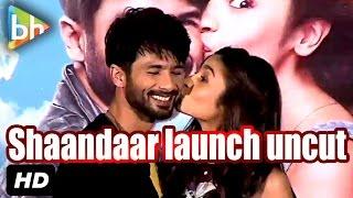 event uncut trailer launch of shaandaar   shahid kapoor   alia bhatt   karan johar