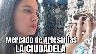 Enloquecí en el Mercado de Artesanías La Ciudadela - 100% Arte Mexicano