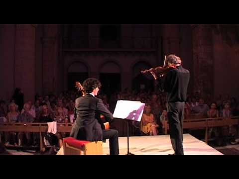 "Paganini, ""Carnaval de Venise"" - O. Pons, Violon - G. Bianco, Guitare"