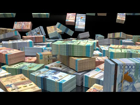 billions-of-kazakhstani-tenge-::-wealth-visualization,-manifestation,-abundance-hd