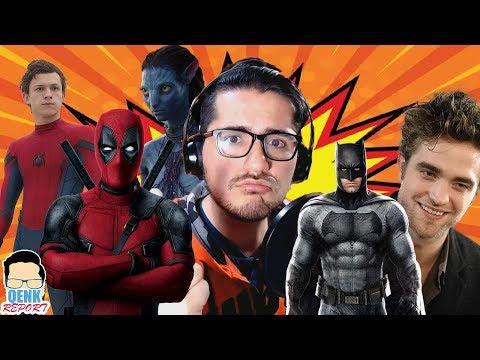 Deadpool sería incorporado al UCM - ¿Ben Affleck regresa como Batman? - Taquilla: Actualización | QR