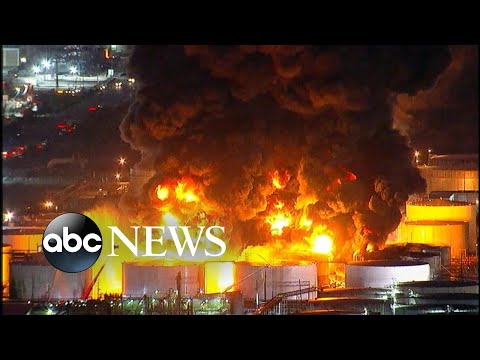 TimBuck2 - Massive Fire at a Gas Chemical Plant in Deer Park Texas!