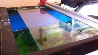 2013-01-20 Repairing Top Brace On 125 Gallon Aquarium