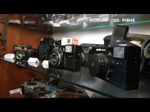 Телеканал UA: Рівне: Фотомитець Олександр Харват пропонує створити у Рівному музей фотографії