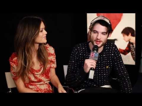 Tom Sturridge and Rachel Bilson Interview - Waiting For Forever Press Junket