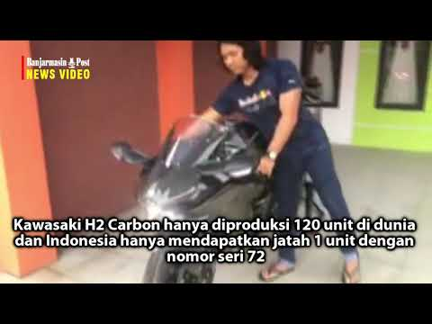 Satu Satunya di Indonesia, Begini Dahsyatnya Suara Kawasaki H2 Carbon