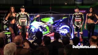 Presentación en Barcelona del Kawasaki Racing Team